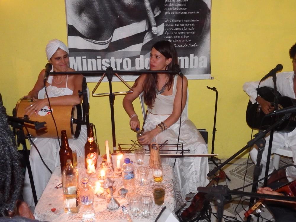 Liz Brasil e a suiça Seraina Gratwohl