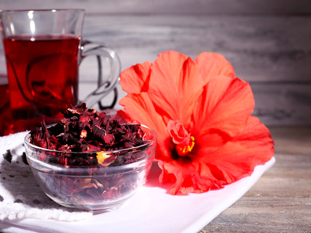 Chá-de-hibisco