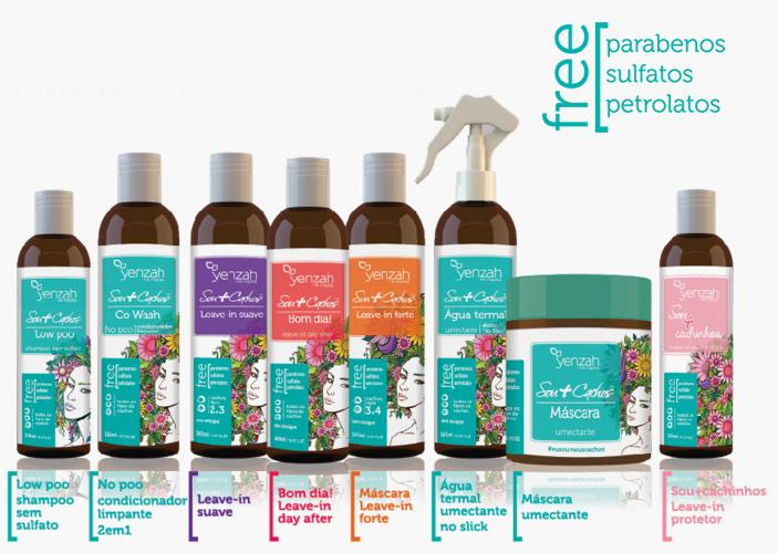 """Preferência Sou+Cachos lança linha """"free"""" sulfatos, parabenos e petrolatos  NZ67"""