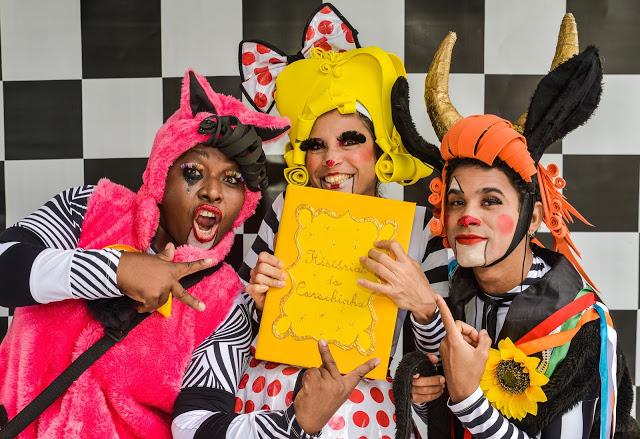Legal tchan, tchan, tchan Foto Fabio Bouzas. Elenco - Cristiane Mendonça, Ridson Reis e Denise correia3
