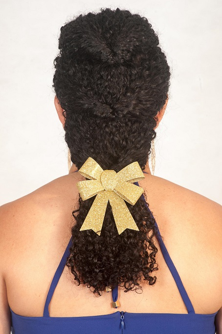 Penteado trança Passo 4