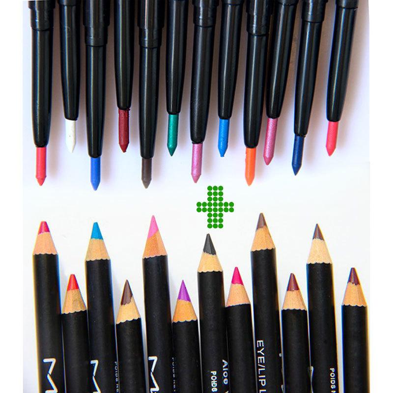 Maquiagem-profissional-12-pcs-delineador-lápis-multicolor-12-pcs-impermeável-de-longa-duração-delineador-de-lábios
